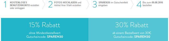 Snapfish mit bis 30% Rabatt auf Fotobücher, Fotoabzüge, Fototassen, Poster .....