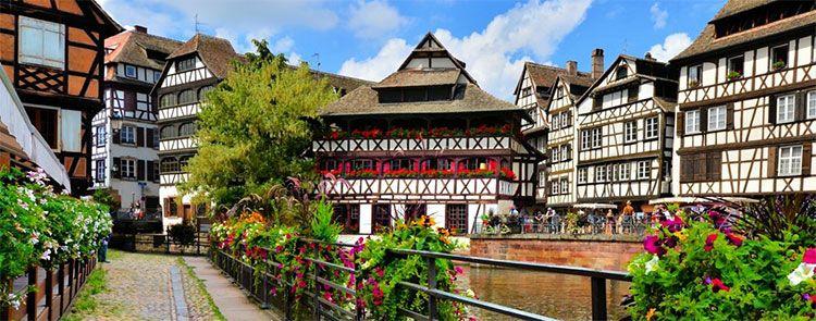 2   3 ÜN im Elsass inkl. Frühstück & Bootstour durch Straßburg ab 69€ pro Person