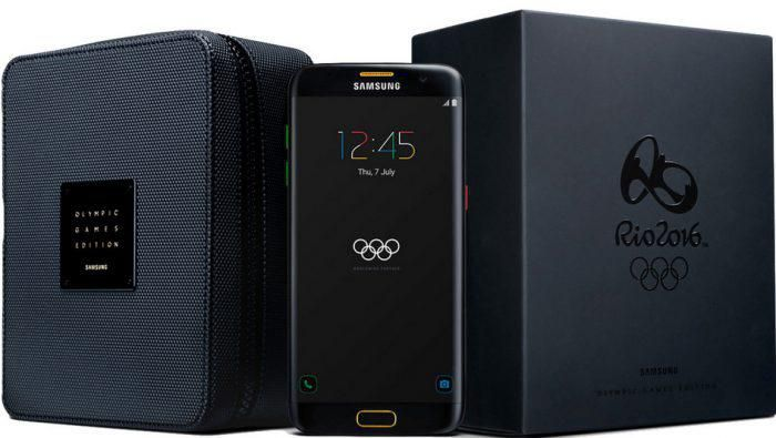Samsung Galaxy S7 Edge Olympic Games Edition + Samsung Gear Fit 2 + Vodafone Comfort Allnet Flat inkl. 2GB für 24,99€/Monat