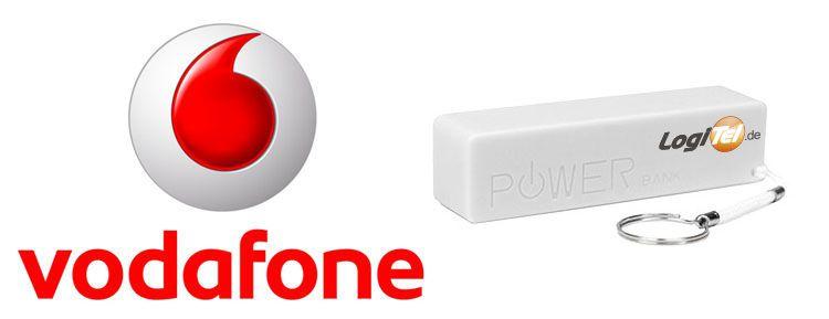 voda.powerbank Vodafone DataGo L 6GB LTE für eff. 9,99€ (durch 420€ Auszahlung) inkl. Powerbank
