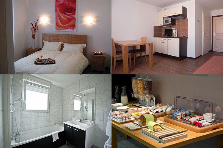 zenitude hotel zimmer 2 ÜN im Elsass inkl. Frühstück & Bootstour durch Straßburg ab 49€ pro Person