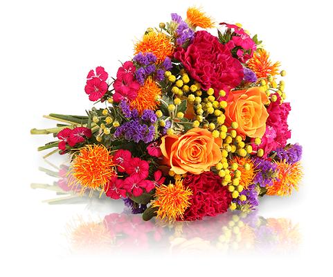 """06 0360 indiansummer  liegend Blumenstrauß """"Indian Summer"""" für 20€"""