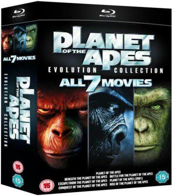 Planet der Affen: Evolution Collection für 15,95€ (statt 32€)