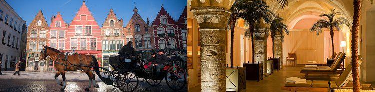 1 ÜN im 4* Hotel in Brügge inkl. täglichem Frühstück und Spa ab 59€ p. P.