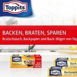 Toppits Bratschlauch, Backpapier & -Bögen gratis testen
