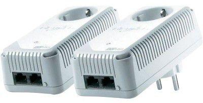 Devolo Powerline Starter Kit dLAN® 500 duo+ plus renkforce Powerline PL500D WiFi  ab 84,44 € (statt 129€)