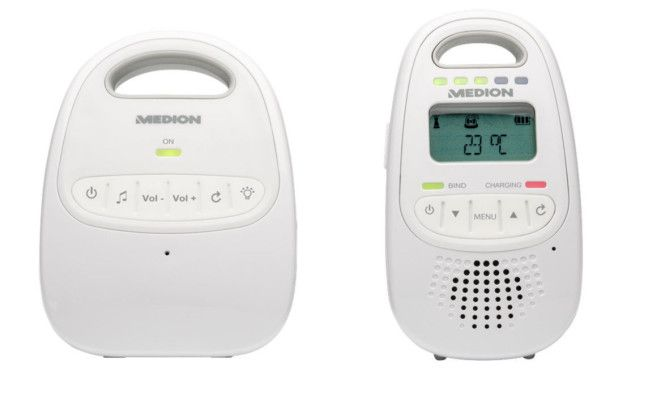 576 e1473520859750 MEDION LIFE P67001 Baby Überwachungssystem für 20€ (statt 30€)