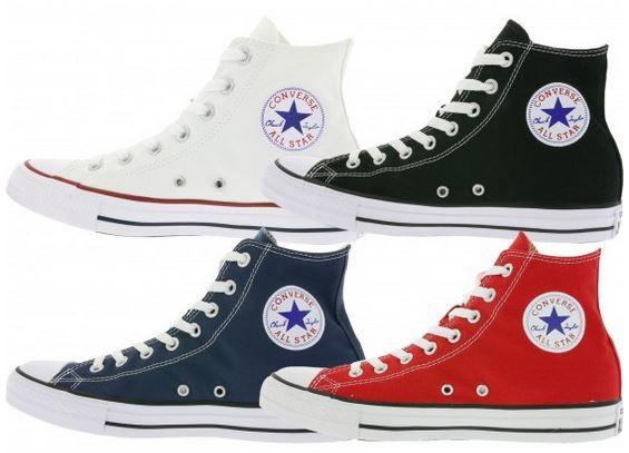 All Star Hi Converse Chucks All Star Hi cut Sneaker div. Farben für 34,99€