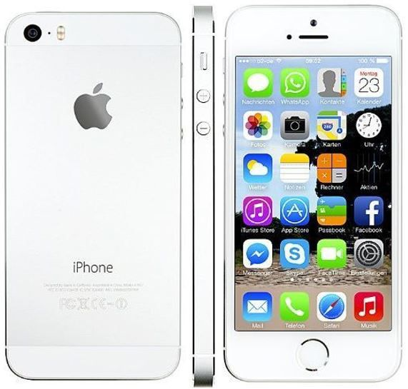 Apple iPhone 5S 16 GB Apple iPhone 5s 16GB silber für 289,99€