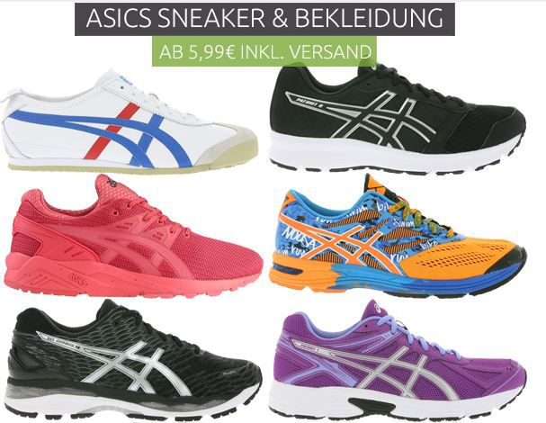 Asics Sale günstige Sneaker Asics Sale bei Outlet46   123 Artikel ab 5,99€