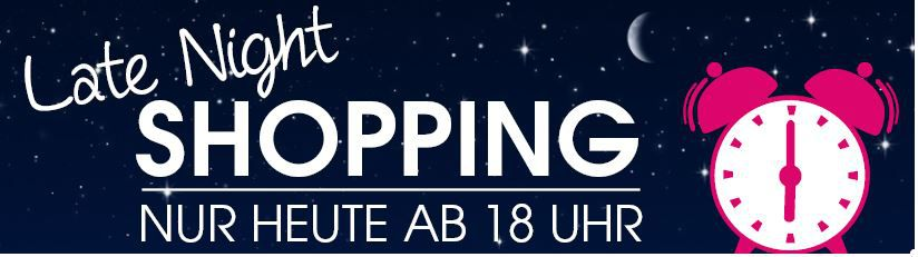 Baby Markt Late Night Baby Markt Late Night Shopping mit bis zu 10€ Rabatt ab 60€   TOP