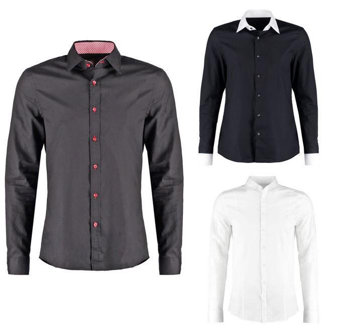 Basic Fashion MULTI0013   langarm Herren Hemd Slim Fit für je 17,95€