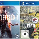 FIFA 17 oder Battlefield 1 – PS4 Games für je 57€
