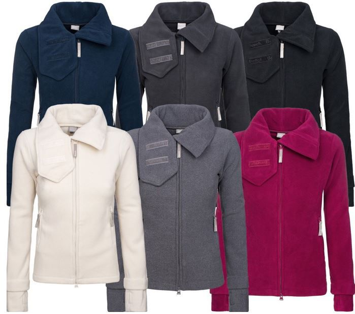 Bench Heritage Funnelneck Damen Jacke Bench Funnel Neck   Damen Fleecjacke in 6 Farben für je 44,99€