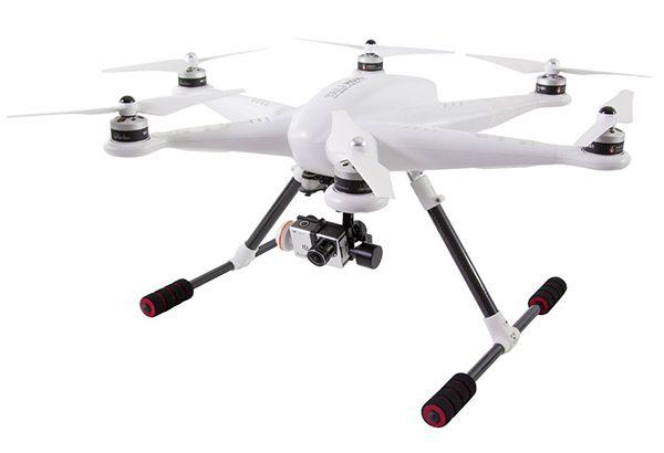 XciteRC H500 Hexacopter mit Full HD + 3D Gimbal für 987€ (statt 1.345€)