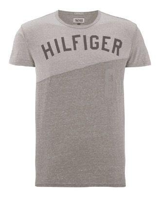 Hilfiger Denim T Shirt mit Logoprint für 20€   nur S, M & L!