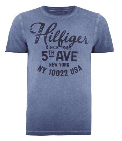 Bildschirmfoto 2016 09 01 um 11.31.20 Hilfiger Denim T Shirt in Washed Out Optik für 20€