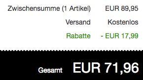 Schnell! Lacoste Sevrin 2 Sneaker aus Veloursleder ab 71,96€ (statt 95€)
