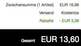 Hilfiger Denim T Shirt mit Superstar Print für 13,60€ (statt 20€)