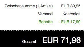 Bugatti Herren Leder Halbschuhe für 71,96€ (statt 90€)