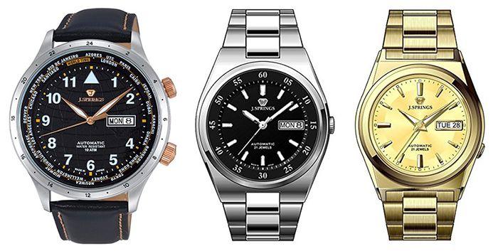Knaller! 50% Rabatt auf J.Springs Uhren   z.B. Automatikuhr für 99€ (statt 324€)
