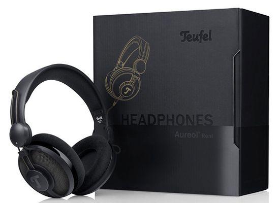Teufel Aureol Real Black Edition Kopfhörer für 58,65€ (statt 103€)