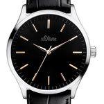 s.Oliver SO-3052-LQ XL Analog Quarz Herren-Armbanduhr für 48,85€ (statt 65€)