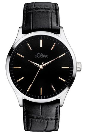 s.Oliver SO 3052 LQ XL Analog Quarz Herren Armbanduhr für 48,85€ (statt 65€)