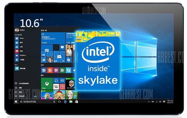 Cube i7 Book   10 Zoll Full HD Tablet mit 64GB + Win 10 für 262€