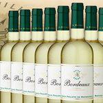 12 Flaschen Rothschild Bordeaux Blanc Weißwein für 39,60€