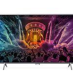 Philips 55PUS6401 – 55 Zoll 4K Android Fernseher + 2-seitigem Ambilight für 720€ (statt 831€)