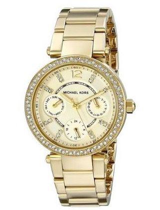 Bildschirmfoto 2016 09 12 um 10.29.49 Michael Kors Parker Damen Armbanduhr für 119,95€ (statt 135€)