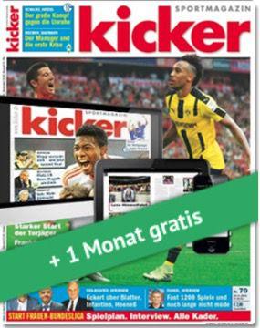 """Bildschirmfoto 2016 09 12 um 15.22.15 4 Monate """"Kicker"""" für effektiv 26,70€ dank Bestchoice Gutschein"""