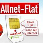 Vodafone Allnet-Flat mit 2GB Datenvolumen für 7,49€ mtl.
