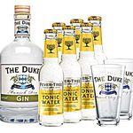 The Duke Gin 0,7l + 6x Tonic + 2 Gläser für 29,90€