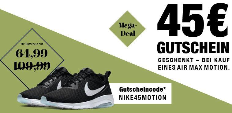 Nike Air Max Motion LW SE für 64,99€   verschiedene Modelle verfügbar!