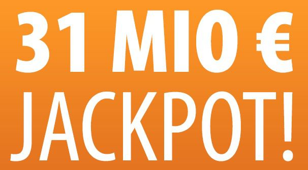 4 Wochen je 1 Lotto Reihe (Jackpot 31 Mio.) für nur 1€   nur Tipp24 Neukunden