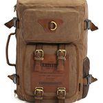 Kaukko FH05 Multifunktions-Canvas-Rucksack für 28€ (statt 45€)