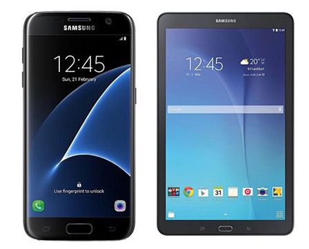 Samsung Galaxy S7 + Galaxy Tab E 9.6 für 551,47€ (statt 663€) + 105,67€ in Superpunkten