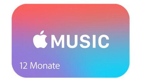 12 Monate Apple Music für 99€ (statt 120€)