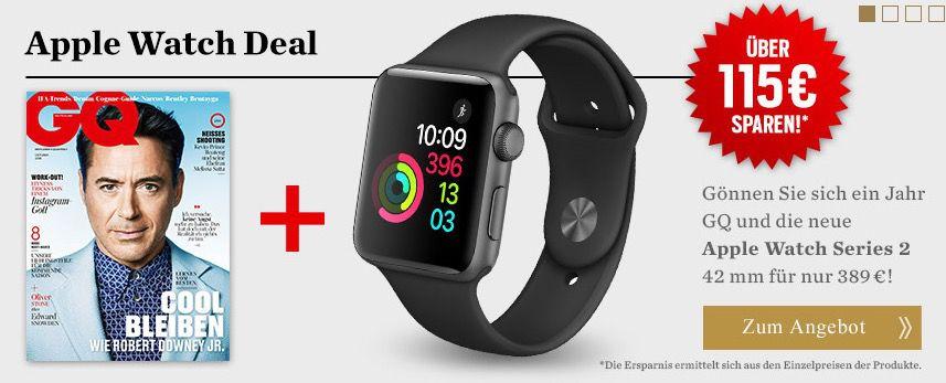 Bildschirmfoto 2016 09 16 um 09.59.56 Die neue Apple Watch Series 2 42mm für 389€ (statt 449€)