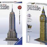 Ravensburger 3D Puzzle-Sets für je 12,93€ (statt 19€)