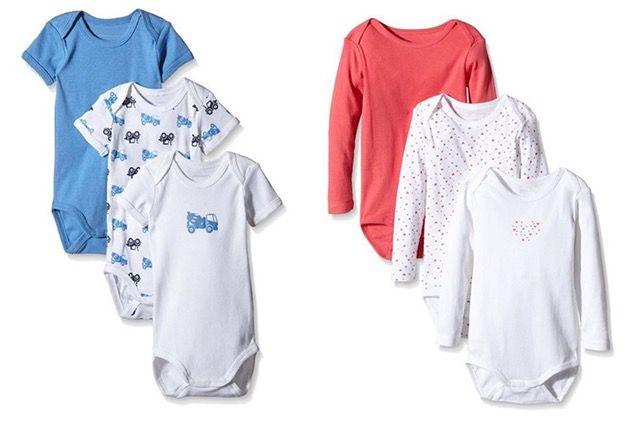 NameIt Sale mit bis zu 50% Rabatt   z.B. 3er Set Baby Bodies ab 6,47€