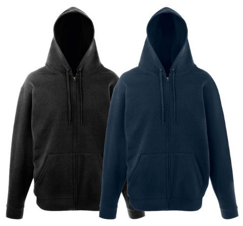 3er Pack Fruit of the Loom Pullover oder 2er Pack Sweatjacken für je 14,90€