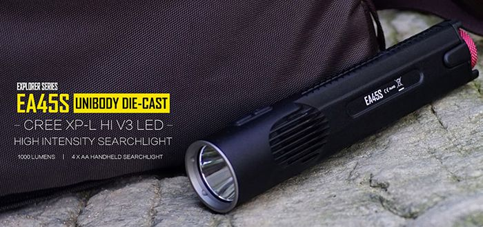 Nitecore EA45S LED Lampe für 33,99€(statt 85€)