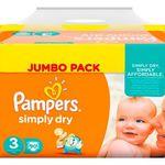 10€ Baby-Walz Gutschein ab 59€ – z.B. 450 Pampers Simply Dry für 57€ (statt 70€)