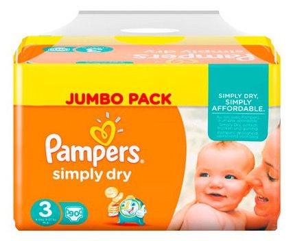 10€ Baby Walz Gutschein ab 59€   z.B. 450 Pampers Simply Dry für 57€ (statt 70€)
