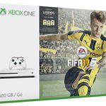 Xbox One S 500GB + Fifa 17 für 235€ (statt 283€)