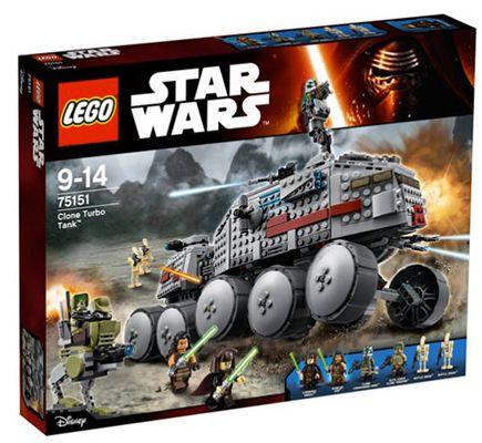 LEGO Star Wars   Clone Turbo Tank (75151) für 69,98€ (statt 91€)
