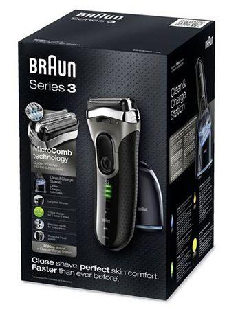 Braun Series 3 3090cc Rasierer für 89€ (statt 117€)